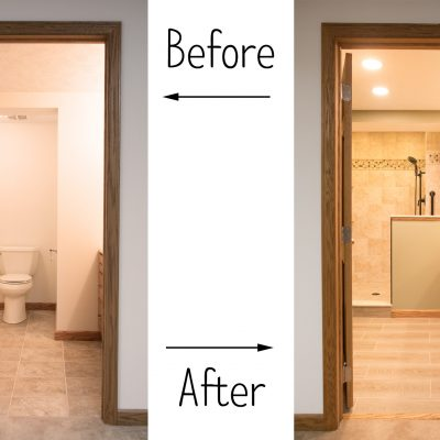 The bathroom remodel: a study of the emotional effects
