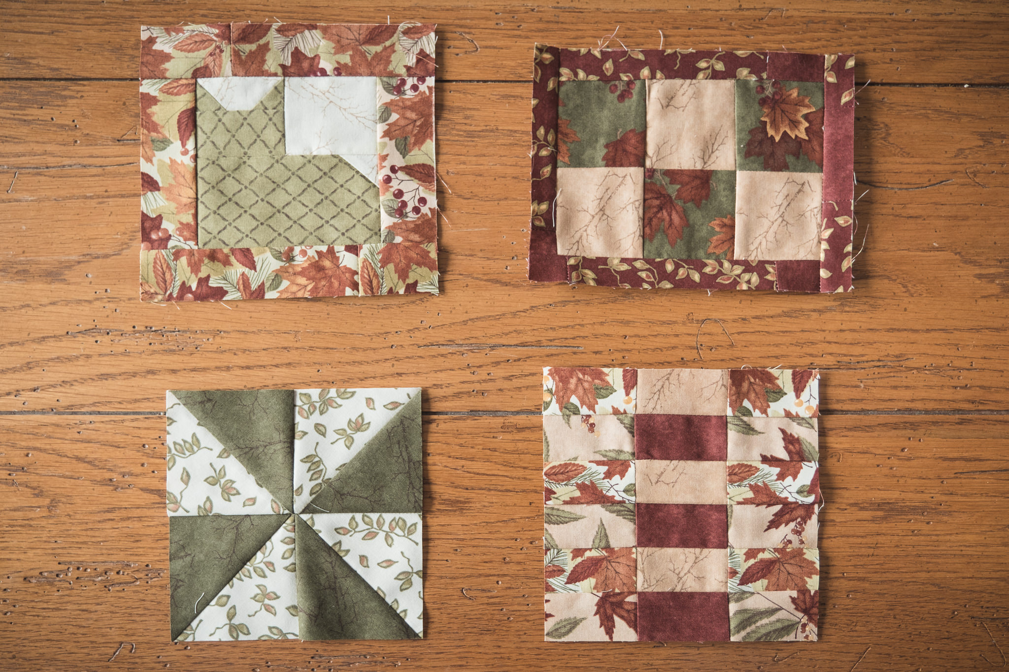 Mug-Rugs. Small Quilting projects.