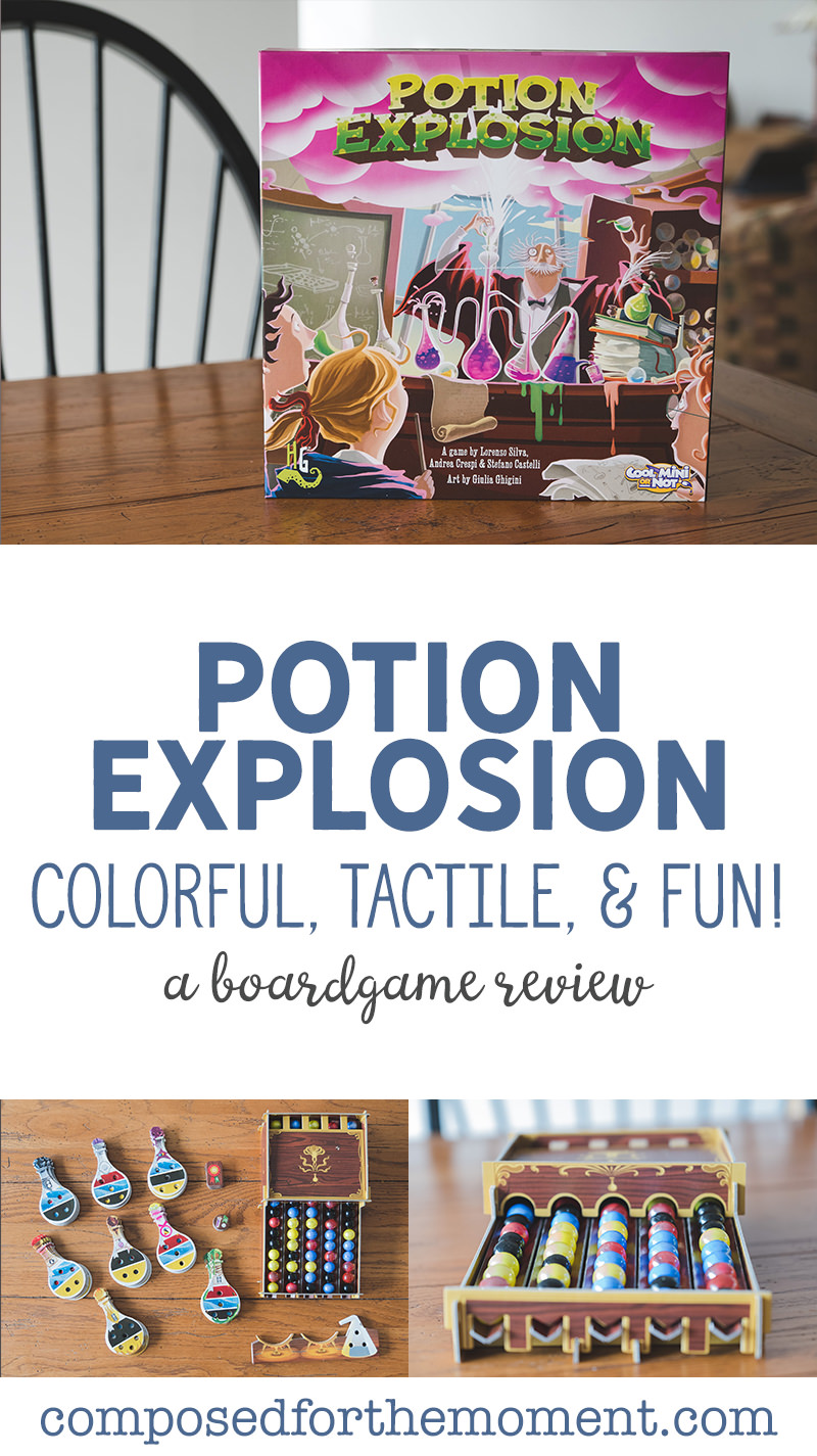Potion Explosion Review Pin