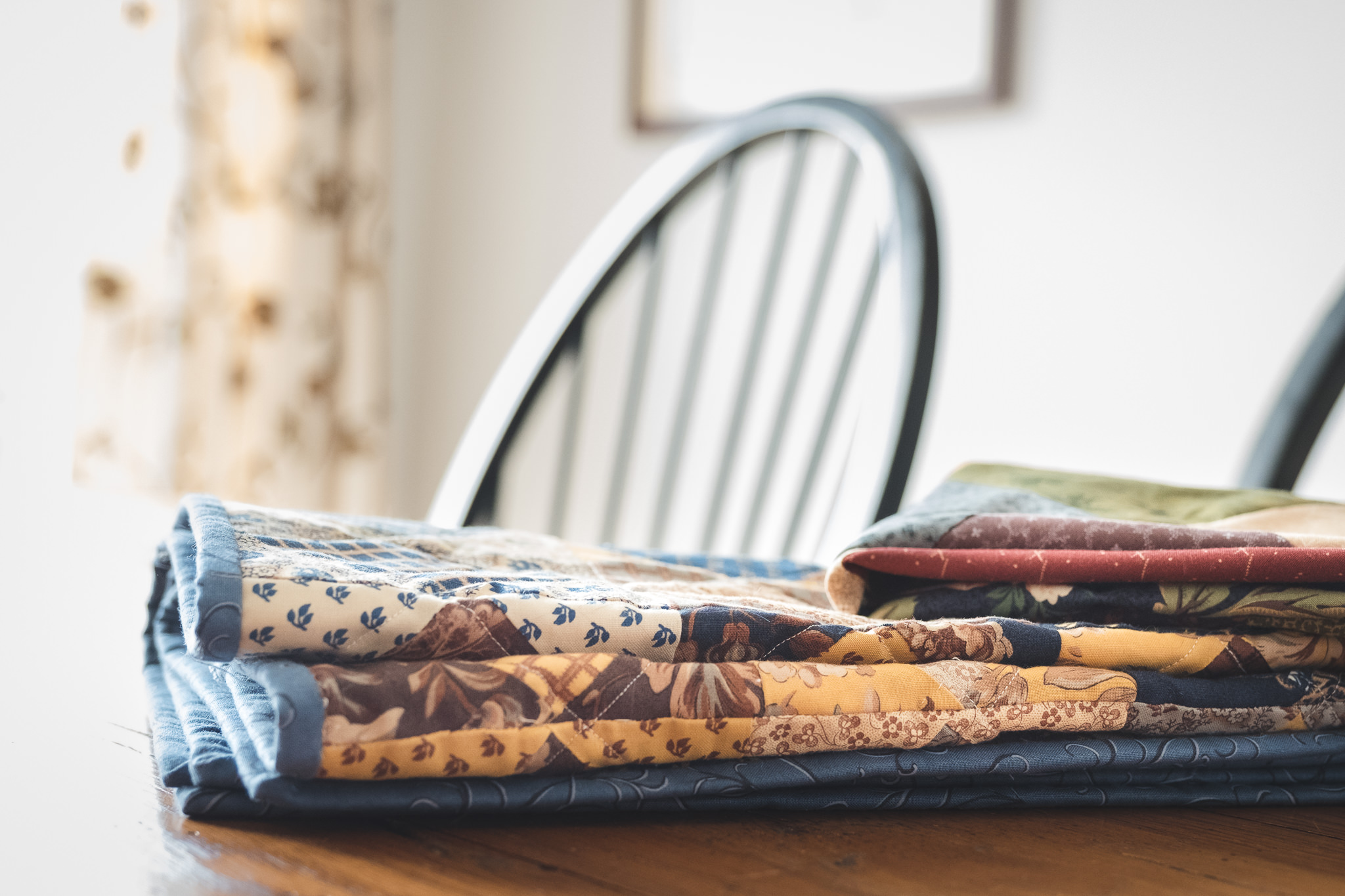 Quilting lessons learned from my first couple quilt projects.