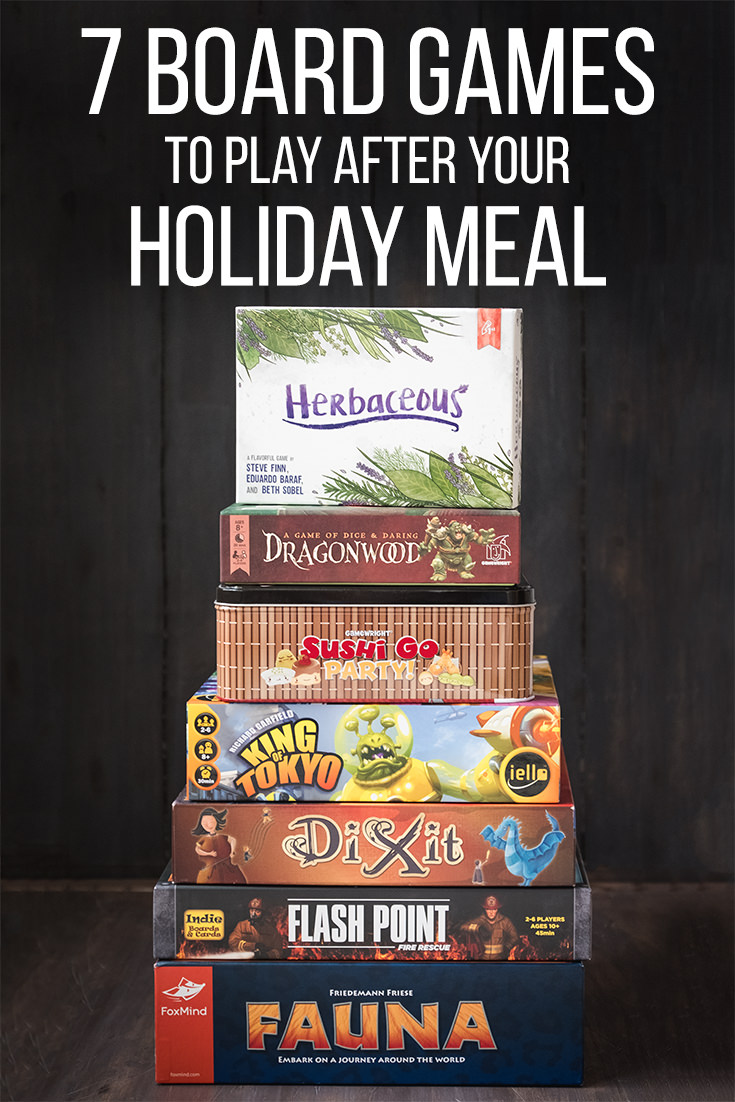 Seven Games to Play After Your Holiday Meal