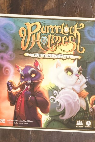 {Board Game Review} Purrrlock Holmes: Furriarty's Trail