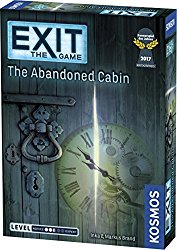 Christmas Board Game Exit: the Game -- Abandoned Cabin
