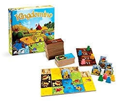 Christmas board game Kingdomino