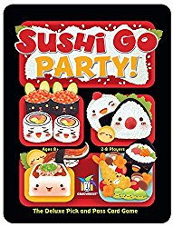 Christmas board game Sushi Go Party