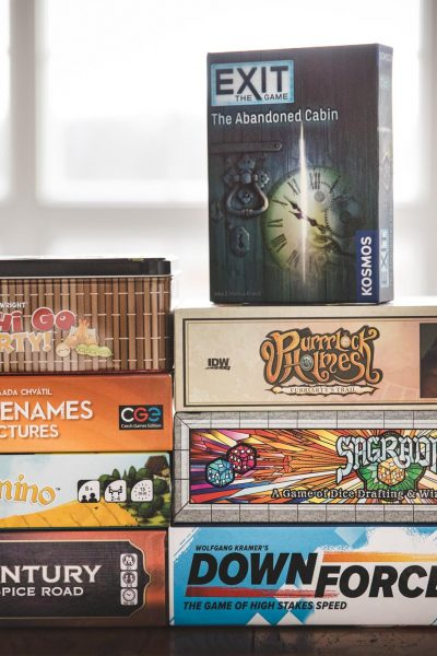 Eight Family Boardgames to Give this Christmas